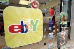 EBay 3Q net income falls, but revenue rises (AP)
