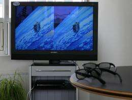 ESA supports satellite delivery of 3D television