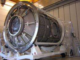 European-built Node 3 starts its journey to the ISS