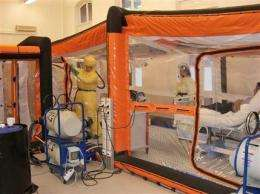 Experimental vaccine used in Ebola exposure case (AP)