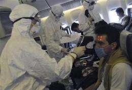Experts say radical measures won't stop swine flu (AP)