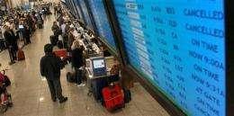 FAA glitch causes widespread US air travel delays (AP)