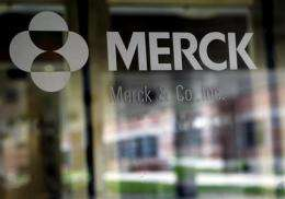 FDA won't accept Merck's application for new drug (AP)