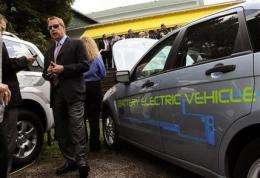 Ford plans vehicles to interact with power grids (AP)