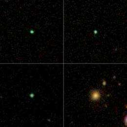Galaxy Zoo hunters help astronomers discover rare 'Green Pea' galaxies