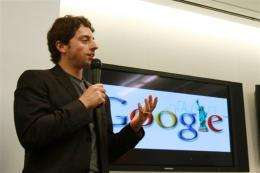 Google co-founder Sergey Brin has expressed amazement at resistance to the Internet giant's plan to digitize many books
