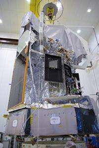 Herschel satellite weighed and fuelled