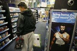 Hollywood hopes an ensemble cast boosts Blu-ray (AP)