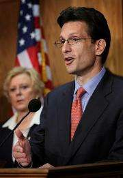 House Minority Whip Eric Cantor
