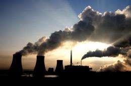 Human emissions rise 2 percent despite GFC