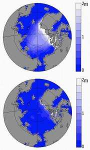 Ice-free Arctic Ocean possible in 30 years, not 90 as previously estimated