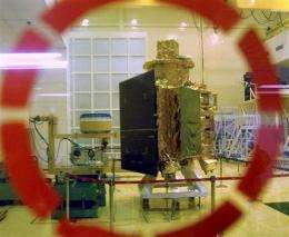 India loses communication with lunar satellite (AP)