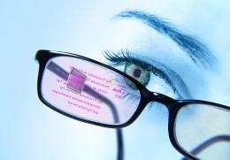 Interactive Data Eyeglasses