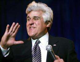 Jay Leno wins right to Web name for his new show (AP)
