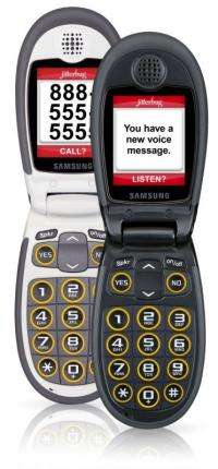 Jitterbug J cell phone