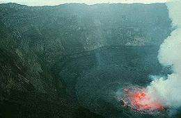 Lava lake at Nyiragongo