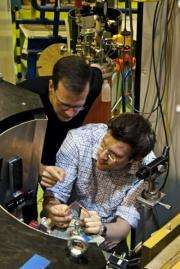 Magnetic monopoles detected in a real magnet for the first time