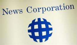 Media giant News Corp. reported a flat quarterly net profit of 2.7 billion dollars