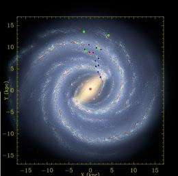 Milky Way a swifter spinner, more massive, new measurements show