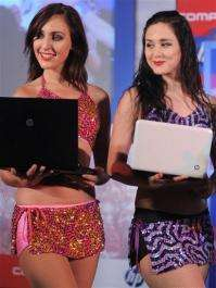 Models with Hewlett Packard notebooks