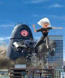 `Monsters vs. Aliens' creates another dimension (AP)