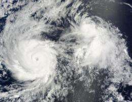 NASA eyes Category 4 Hurricane Felicia and a stubborn Enrique