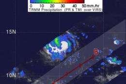 NASA eyes Hilda's Hawaiian hangout -- south of the islands