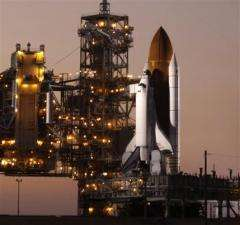 NASA: Good shot at Sunday shuttle launch (AP)