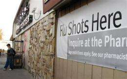 Nasal spray flu vaccine becoming available (AP)