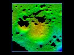 NASA's LCROSS Reveals Target Crater For Lunar South Pole Impacts