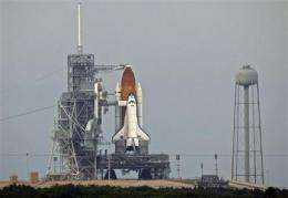 NASA starts fueling shuttle for 6th launch try (AP)