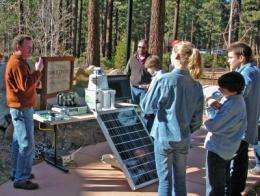 New forest fire detection system prototype installed at Lake Tahoe
