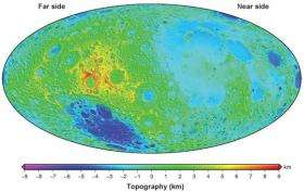 New high-res map suggests little water inside moon