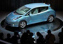 Nissan Motor's electric vehicle called