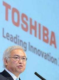 Norio Sasaki, president of Japanese high-tech giant Toshiba