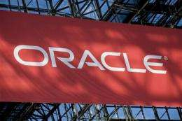 Oracle manages 3Q feat: healthy contract signings (AP)