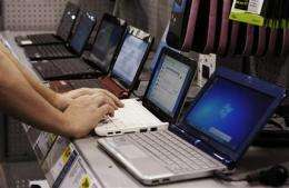 PCs shed pounds and CD drives, gain touch screens (AP)