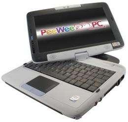 PeeWee Pivot Tablet Laptop