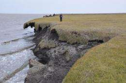 Portions of Arctic coastline eroding, no end in sight, says new CU-Boulder study