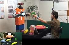 Predictive powers: a robot that reads your intention? (w/Video)