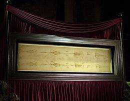 Researcher: Faint writing seen on Shroud of Turin (AP)