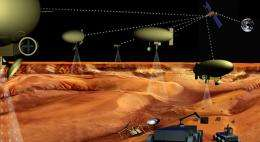 Robot Armada Might Scale New Worlds