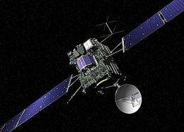 Rosetta approach on schedule