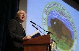 Salazar reviews 'midnight' endangered species rule (AP)