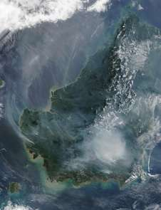 Study: Climate adds fuel to Asian wildfire emissions