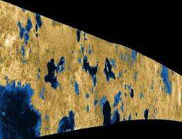 Subterranean oceans on Saturn's moon Titan