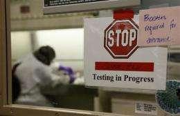 Swine flu virus starting to look less threatening (AP)
