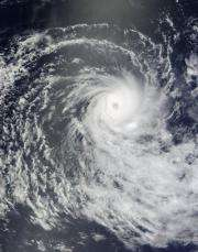 Terra satellite spots Tropical Cyclone Anja, the first of the southern season