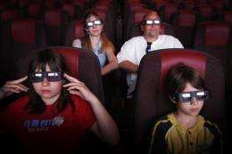 Theater owners behind on 3-D projectors (AP)