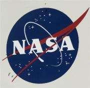 The NASA logo seen at Kennedy Space Center